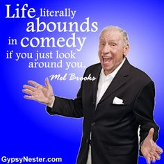 Comedy - Mel Brooks Quote