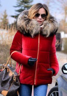 Fur Jacket, Hoodie Jacket, Fur Coat, Scarf, Winter Jackets Women, Fur Fashion, Overall, Fur Collars, Winter Coat
