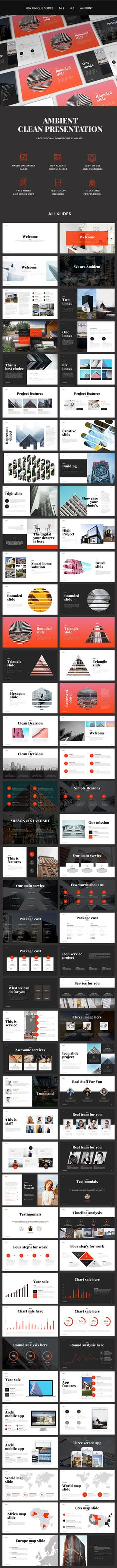 Ambient - PowerPoint Presentation Template