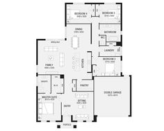 Lancaster 25, New Home Floor Plans, Interactive House Plans - Metricon Homes - Queensland