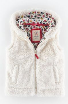 Mini Boden 'Cosy' Gilet (Toddler Girls, Little Girls & Big Girls) available at #Nordstrom
