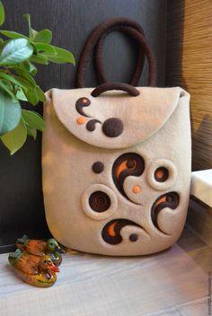 "Купить Рюкзак валяный ""Полли"" - рюкзак, рюкзачок, рюкзак валяный, рюкзак женский, сумка валяная"
