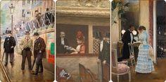 Jean Beraud (1849 - 1935) | Fransız Ressam - Forum Gerçek
