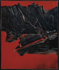 Peinture (1961) by Pierre Soulages