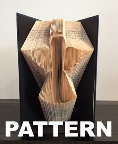 Angel Book Folding Pattern Free Pictorial by BookFoldingAustralia