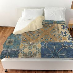 Moroccan Patchwork Duvet Cover