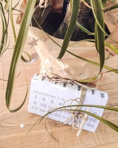 Adventkalender to go als liebe Geschenksidee für eine Freundin. Easy-peasy do it yourself, DIY im Advent Advent, To Go, Hoop Earrings, Easy, Jewelry, Calendar, Love, Christmas, Jewlery