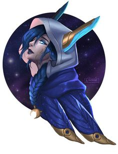 Cosmic Dusk Xayah Tips for League of legends so hot