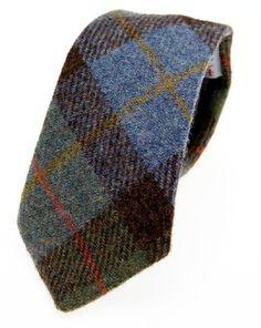 Farb-und Stilberatung mit www.farben-reich.com Harris Tweed tie