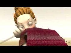 Este fin de semana lluvioso, ¿por qué no ponerse a tejer? Para entrenar, este corto de animación de Laura Neuvonen: The last knit.
