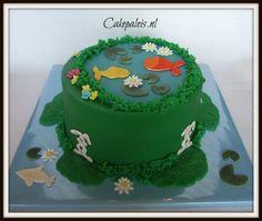 Fish and bunny cake