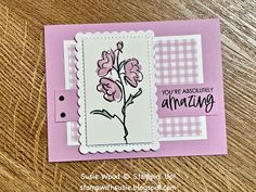 Fall Flowers, Colorful Flowers, Color Contour, Wink Of Stella, Cards For Friends, Friend Cards, Pansies, Paper Design, Cross Stitch Cards