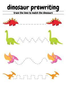 Dinosaur Worksheets Kindergarten Free Dinosaur Preschool Worksheets with Images Dinosaur Worksheets, Dinosaur Theme Preschool, Preschool Writing, Free Preschool, Preschool Lessons, Preschool Learning, Worksheets For Kids, Kindergarten Worksheets, Preschool Crafts