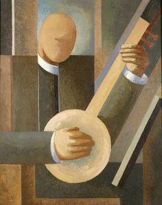 """Märt Laarman, """"Muzyka"""", 1929, olej na płótnie, wł. Muzeum Sztuki w Tartu, fot…"""