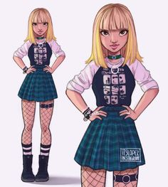 Sc: @ itslopez Blackpink 's Lisa art Cartoon Drawings, Cartoon Art, Cute Drawings, Fashion Sketches, Art Sketches, Anime Pokemon, Itslopez, Character Drawing, Character Design Inspiration