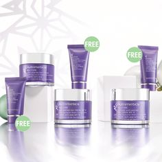 Restore Day Creme + Mini Night Creme  just $49.90 available with SPF or not and intense
