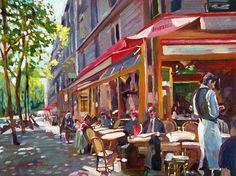Paris | Iris sans frontières | Page 2 irissansfrontieres.wordpress.com900 × 672Buscar por imagen street cafe paintings for sale