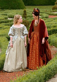 """""""elisa lasowski and jessica clark in an unknown deleted scene from versailles season 2 """" Versailles Season 2, Versailles Tv Series, 17th Century Clothing, 17th Century Fashion, Rococo Fashion, Fashion Tv, Rococo Dress, Period Outfit, Medieval Dress"""