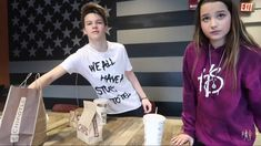 Annie looks sad and Hayden is looking for food Julianna Grace Leblanc, Hayley Leblanc, Annie Grace, Annie Lablanc, Young Youtubers, Her Annies, Big Bang Theory Quotes, Annie And Hayden, Hayden Summerall