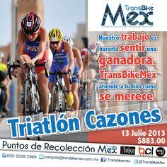 TRIATLON CAZONES el 13 julio 2013 !