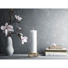 Glow candle holder gold – Georg Jensen