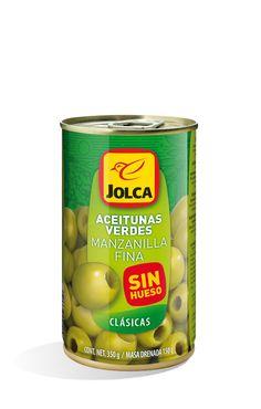Manzanilla sin hueso lata 370 ml #aceitunasverdes #manzanilla #Jolca