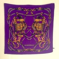 Vintage Scarf Silk 🐎
