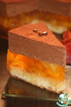 Russian cake of some sort - the recipe needs translation. Russian Cakes, Russian Desserts, Russian Recipes, Sweet Desserts, Sweet Recipes, Delicious Desserts, Baking Recipes, Cake Recipes, Dessert Recipes