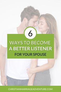 Enhance your marriage by learning how to be a better listener to your spouse. Let these practical marriage tips help you learn how to communicate effectively with your spouse by being a better listener.    Christian Marriage Adventures #communication #communicationinmarriage #marriageadvice #christianmarriageadventures Marriage Sites, Biblical Marriage, Best Marriage Advice, Marriage Vows, Communication In Marriage, Intimacy In Marriage, Effective Communication, Conversation Starters For Couples, Words Hurt