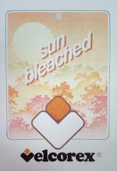 Etiquette Velcorex - Collection Sun bleached