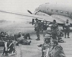 Polish paratroopers part of Operation Market-Garden