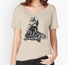 This is how the 'Mobile Home' looks on a shirt. Hope you like it!