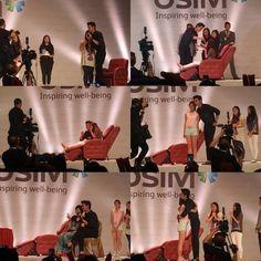 awesome LeeMinHo Fan Service in OSIM Event in HK ♥♥♥