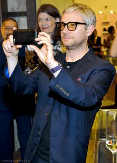 Martin Freeman @the party for Paul Smith's 10 year Los Angeles anniversary with The Beaumont, Los Angeles, 10/08/15