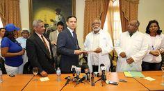 Armario de Noticias: Viceministro de la Presidencia recibe gremios salu...