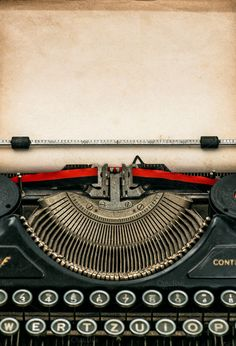 Check out Antique typewriter with aged paper by LiliGraphie on Creative Market
