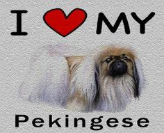 I Love My Pekingese Cutting Board - Great For Kitchens by MyHeritageWear. $34.95. Save 22% Off!