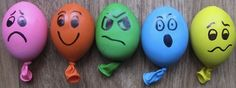 Anger Management Balloon Activities - Expression Analogy: Balloons are a good visual to use when explaining anger and the importance of self expression. You can demonstrate what happens when people...