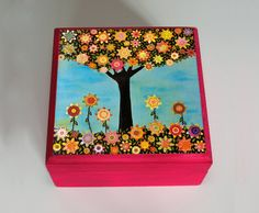 Handmade Jewelry Box - Homemade Birthday Gifts for Mom