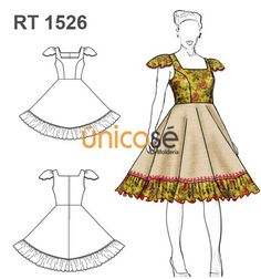 VESTIDO DE HUASA Square Dance, China, Beautiful Dresses, Sewing Patterns, Ballet, Disney Princess, Diy, Fashion, Baby Dresses