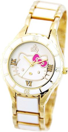 Cute White Hello Kitty Watch