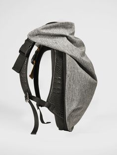 Backpack - Nile Basalt - Côte&Ciel, gray and black backpack for men and women