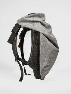 Backpack - Nile Basalt - Côte&Ciel, gray and black backpack for men and women