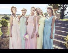 Bridesmaids pastel colours #kelseyrose #love #wedding