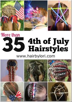 35 4th of July Hairstyles