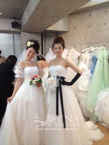 シンデレラのフルオーダードレス|オーダーウエディングドレスショップ YNS WEDDING のブログ
