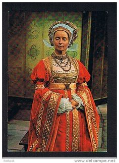 """Anne of Cleves, Fourth Wife of Henry VIII / """"The Six Wives of Henry VIII"""" (1970) - Elvi Hale"""