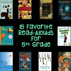 15 Favorite Read Alouds for 5th Grade- Hello Learning Blog