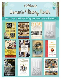 Women's+History+Month Womens Month, Book Suggestions, Women's History, Great Women, What To Read, Books, Libros, Book, Book Illustrations