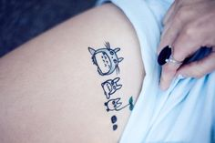 20+ Cute Totoro Tattoo Inspirations